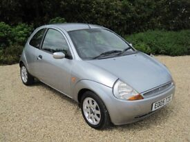 Silver 2005 Ford KA 1.3i Sublime Full Leather Clean Comfortable and Reliable