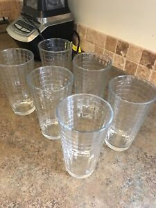 Tall Drinking Glasses-6 for $5