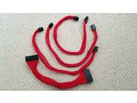 Sleeved PSU cables