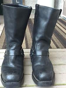 Harley Leather Boots