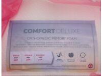 Comfort deluxe Memory foam mattress.
