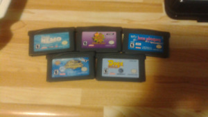 Assorted GBA games