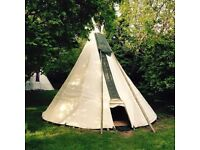 Senior Housekeeper @ Cornish Tipis - experienced cleaner for tipi changeovers nr Port Isaac