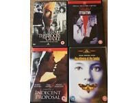 DVD thrillers