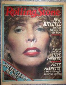 Rolling Stone Magazines - 1970's & 1980's
