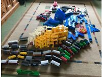 Tomy Train track and trains
