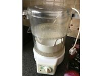 Tefal two levels steamer with Rich bowl included