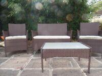 Four piece garden set