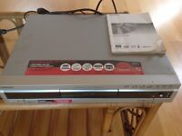 Sony VIDEOPLUS DVD Player/Recorder RDR GX300/RDR-GX700 with Instructions & Remote