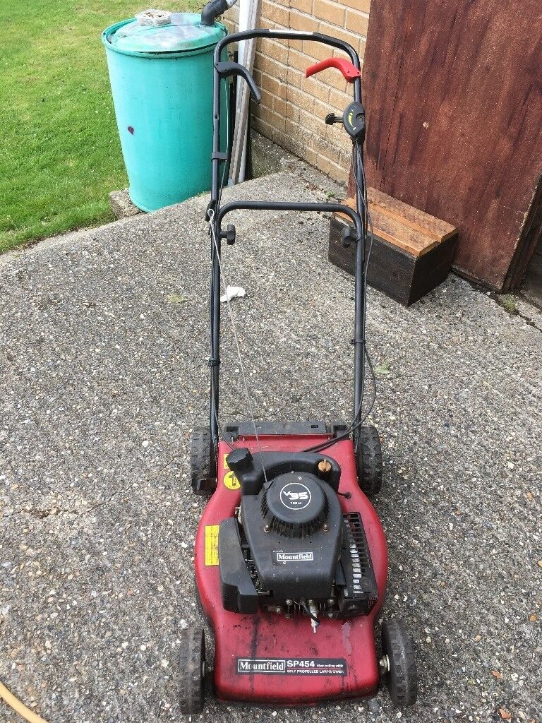 2 x Lawnmowers For Sale - Mountfield SP454 & Champion 40. Posted: 378 days  ago. Lawnmower Type: Rotary