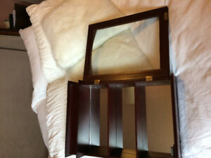 Curio Cabinet with Glass Door