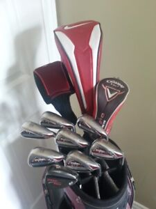 Men's right handed golf clubs - Full set (Nike, Callaway)