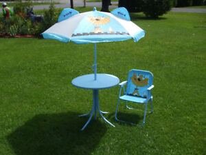Ensemble patio pour enfant   450-994-2242