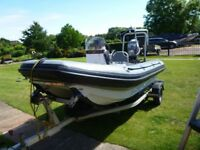 4m c fury rib in excellent condition