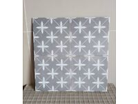 Poole grey floor and wall tiles £14.99 per sqm!