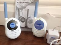 'Tomy walk-about classic advance' nursery monitors in immaculate condition for sale