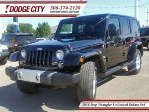 2014 Jeep WRANGLER UNLIMITED Sahara | 4x4 | PST PAID