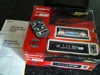 Sony cdx-m600r remote flip face cd player
