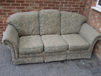 Three seater settee Absolutely free!