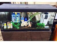 Fluval 4ft Fish Tank Aquarium