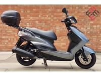Yamaha cygnus 125, Excellent Condition, only 2941 miles!