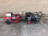 Honda Power Pressure Washers Hawk , Hot And Cold Inter Pump with Hose Reel