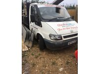 Ford Transit tipper spares or repairs offers