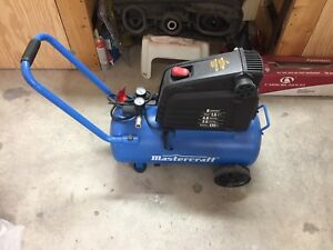1.5HP 8 Gallon Mastercraft Air Compressor
