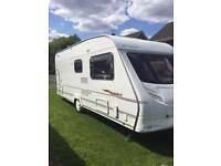 Ace Jubilee Courier 2006 6 Berth Motor mover and porch Awning