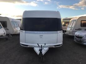 2013 HOBBY 700 PREMIUM VIP - TWIN AXLE FIXED BED TOURING CARAVAN