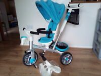 Spin Trike Children's Trike with parent pole