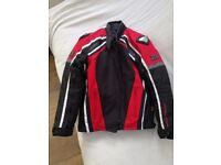 Frank Thomas Gents Motorcycle Jacket Medium