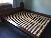 Standard King size bed frame from IKEA