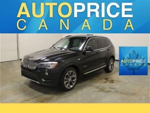 2015 BMW X3 xDrive28i TECH PKG|NAVI|X-LINE|REAR CAM