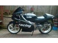 aprilia rs 125,full power,