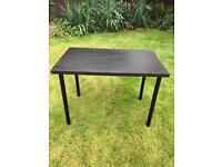 Black IKEA (adils) table