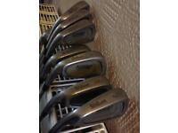 Set Of Left Handed Wilson 1200TR Golf Irons