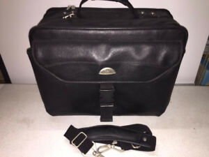 SAMSONITE-COMPUTER CARRYING BAG-USED--BLACK