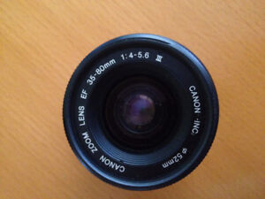 Canon Zoom Lens EF 35-80 mm 1:4-5.6