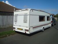 Swift Challenger 530SE, 4 berth single axle caravan,owned for 11 years, no smokers or pets.
