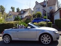 SUMMER/AUTUMN SALE!! (2004) AUDi TT Roadster Quattro 1.8T 225 BHP FREE DELIVERY/MOT 1 YR/TAX/FUEL