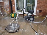 Pressure washer and rotary surf.cleaner.Buisness package