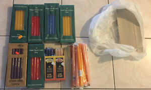 New candle stick packs Total of 103