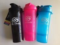 SmartShake Trio Gunsmoke x Neon Blue x Neon Pink - Brand New -50%
