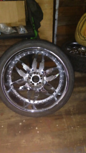 "22"" Massa rims 5 bolt"