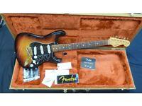 Fender SRV stratocaster inc Original Fender Tweed Case