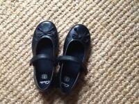 Clarks girl's school shoes