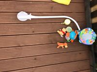 Winnie the Pooh and mamas and papas cot mobile / accessories-£20