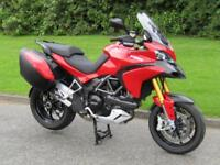 2012 Ducati Multistrada 1200 S ABS Sports Touring Ohlins Suspension