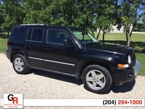 2010 Jeep Patriot Limited 4x4 Leather, New Tires, Great Cond